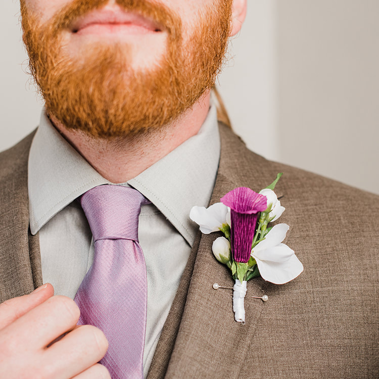 Oregon city wedding photographer captures wedding detail shot